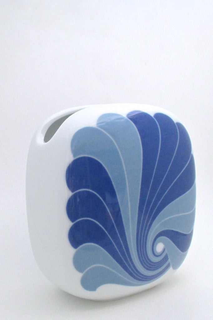 Rosenthal Germany large vintage pop art porcelain pillow vase by Rosamonde Nairac
