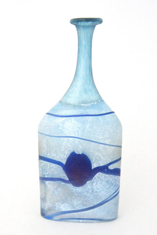Bertil Vallien for Kosta Boda, Sweden Galaxy bottle vase - artist collection