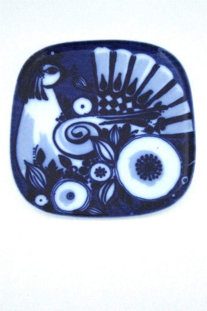 Bjørn Wiinblad for Rosenthal Studio Line flow blue bird plate