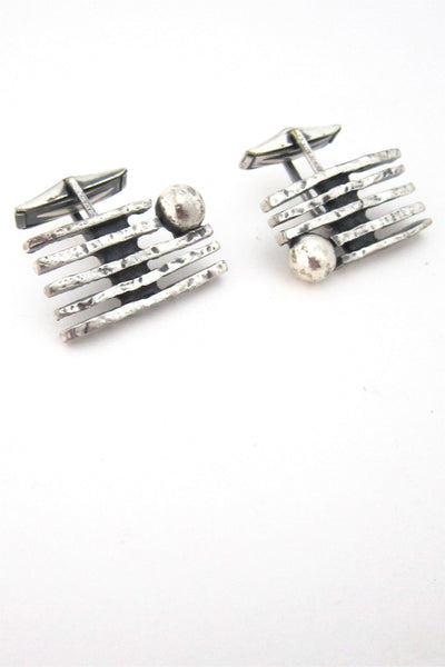 Guy Vidal Canada modernist cuff links