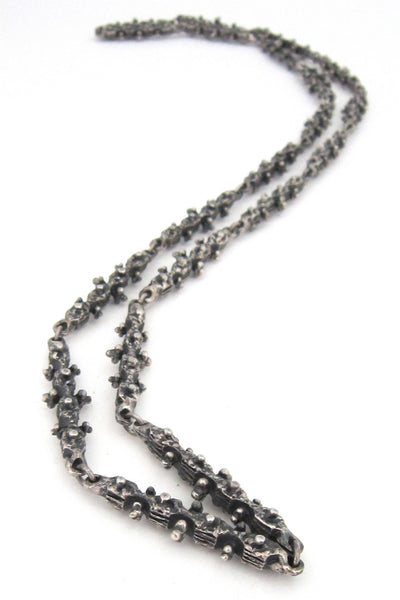 Guy Vidal pewter necklace