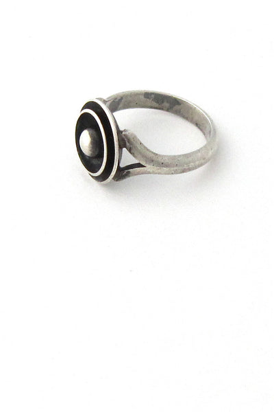 N E From Denmark silver discs ring