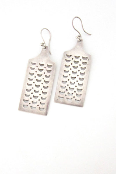 Tone Vigeland Norway silver earrings