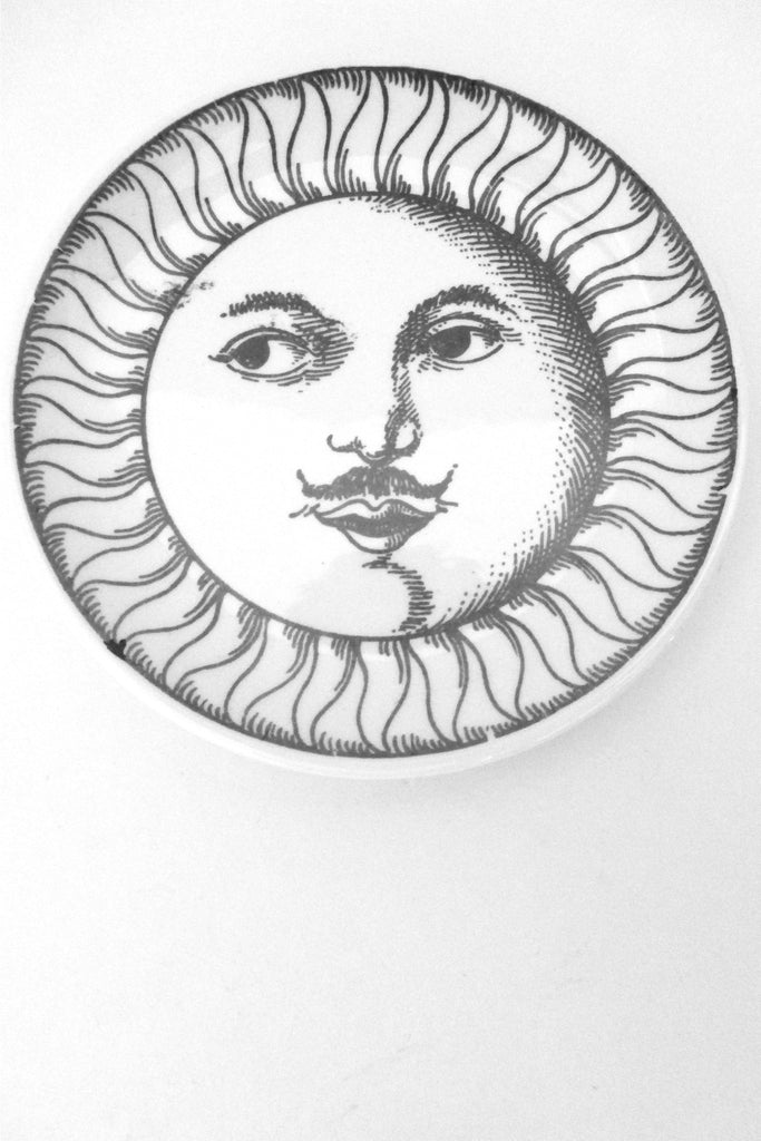 Fornasetti vintage Soli e Lune Sun and Moon coaster # 1