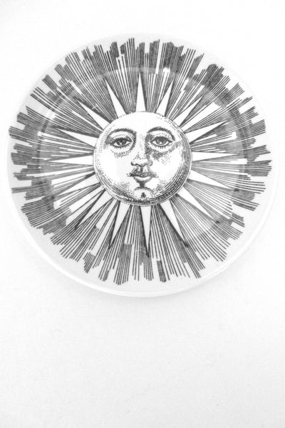 Fornasetti vintage Soli e Lune Sun and Moon coaster # 3
