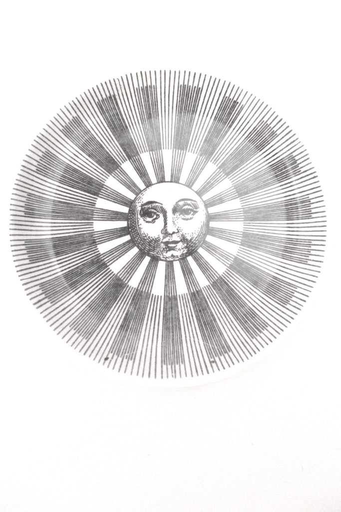Fornasetti vintage Soli e Lune Sun and Moon coaster # 4