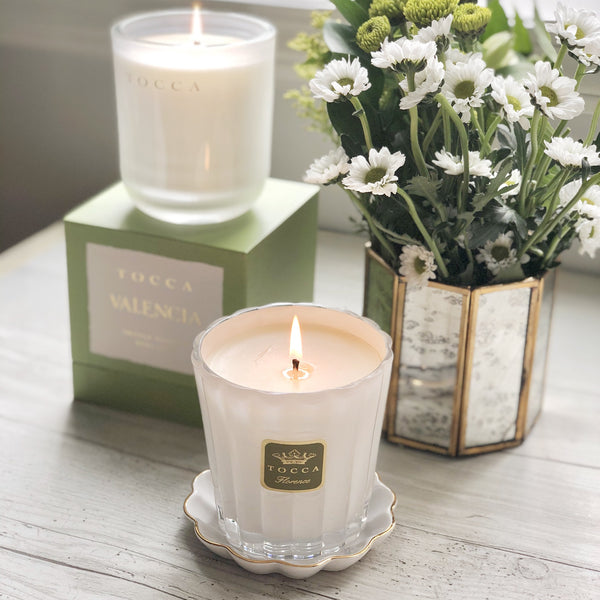 Tocca Home Fragrance Florence & Valencia Candle Duo