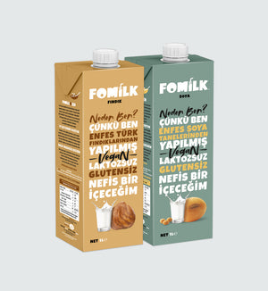 Fındık ve Soya / Hazelnut and Soy 1L
