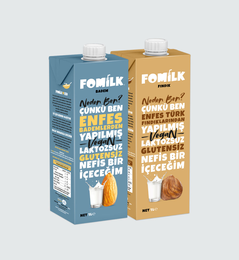 Badem ve Fındık / Almond and Hazelnut 1L