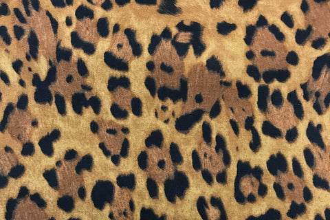 tan and brown leopard print