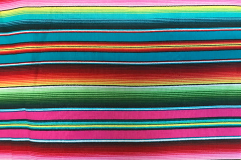 pink, red, blue and green stripe