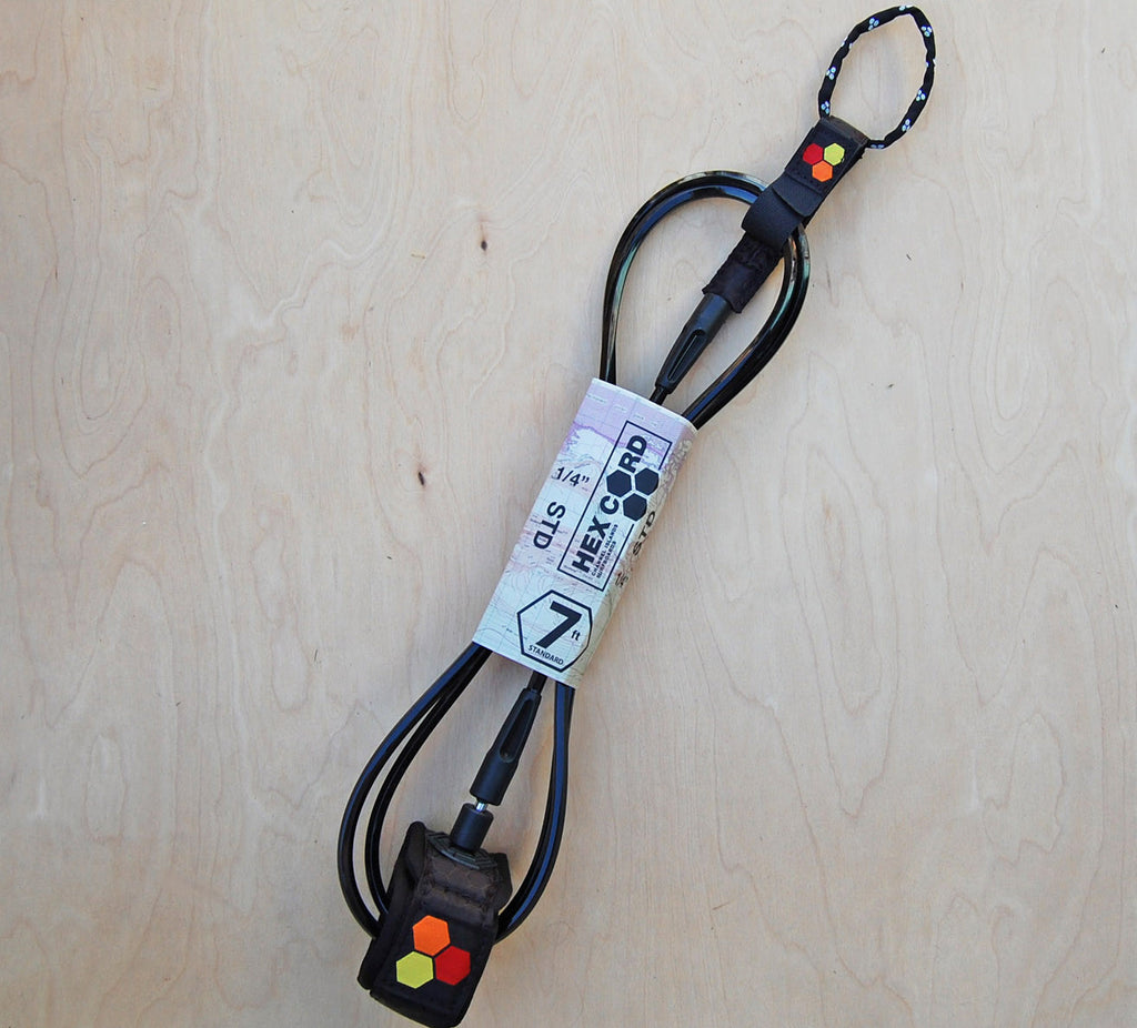 "Sale CI Hex Leash 7"" : Black"