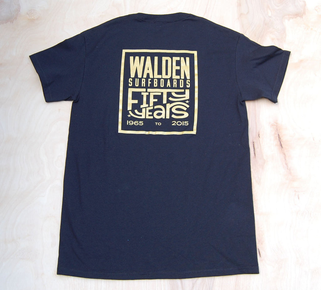 Sale 50th  Gold Anniversary t-shirt : Black