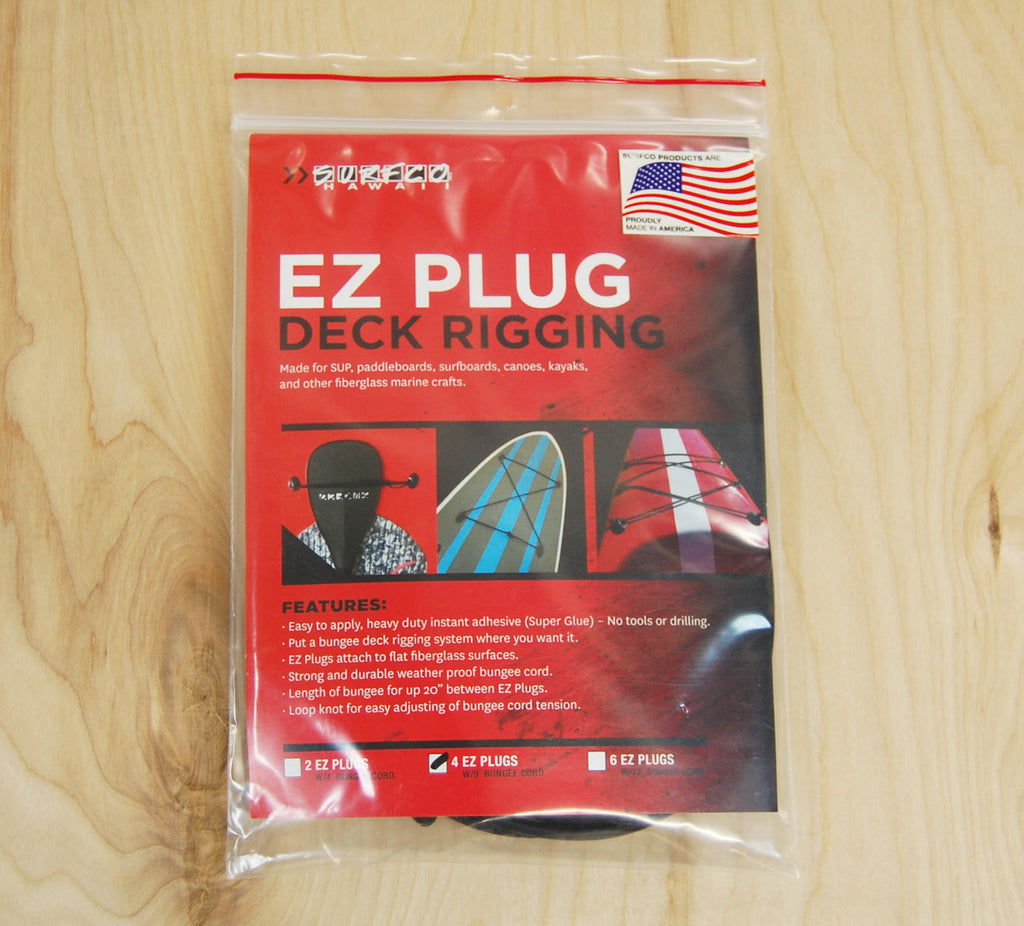 Surfco EZ Plug deck rigging 4pc.