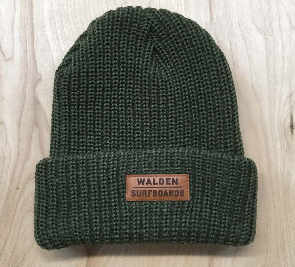 Walden Beanie: heather green