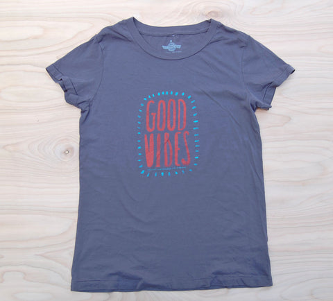 Sale Good Vibes t-shirt : Grey