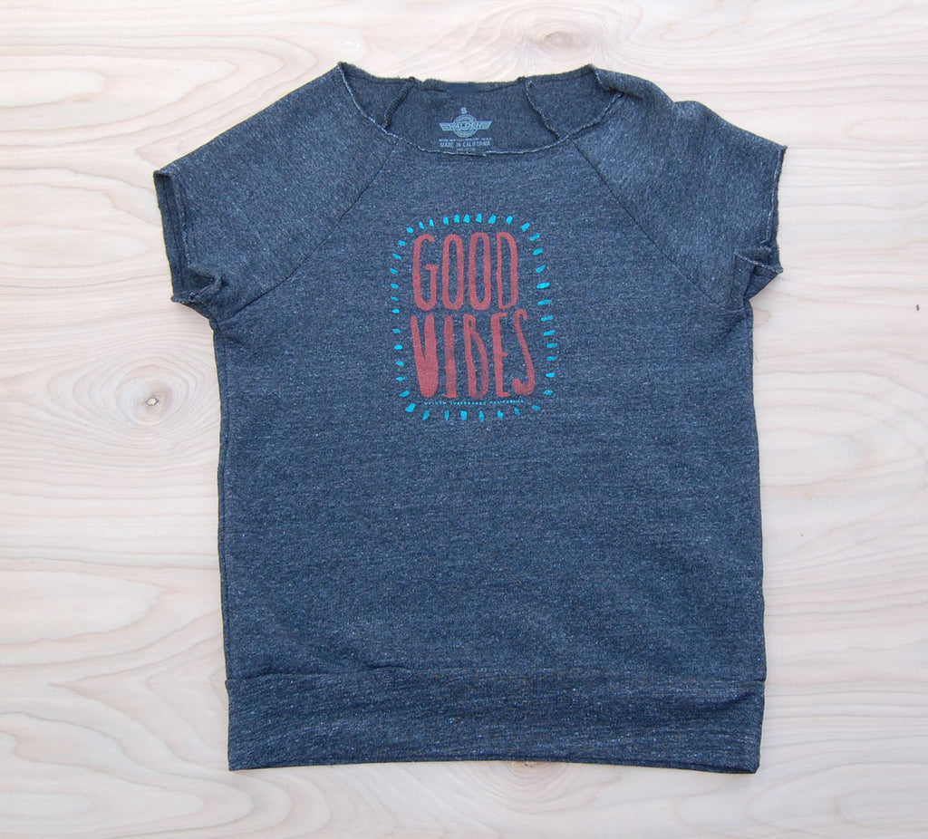 Sale Good Vibes pullover : Black