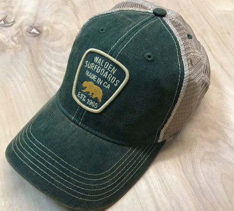 Walden NPS trucker : green