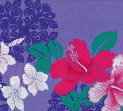 Purple Paradise Fabric