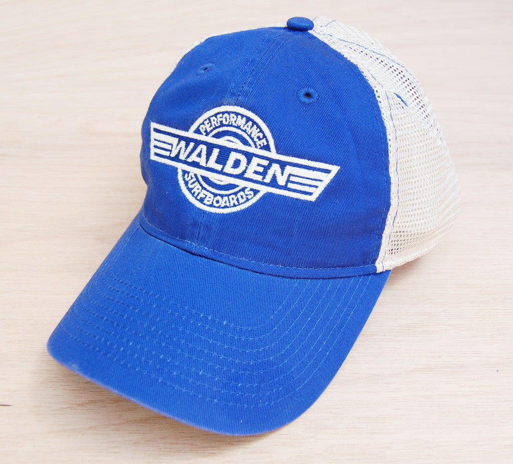 Walden Logo Trucker Royal