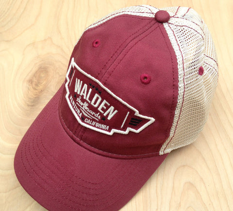 Walden Air Force Trucker : Burgundy