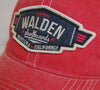 Walden Air Force Trucker : red