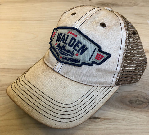 Sale Walden Air Force Trucker : Tan