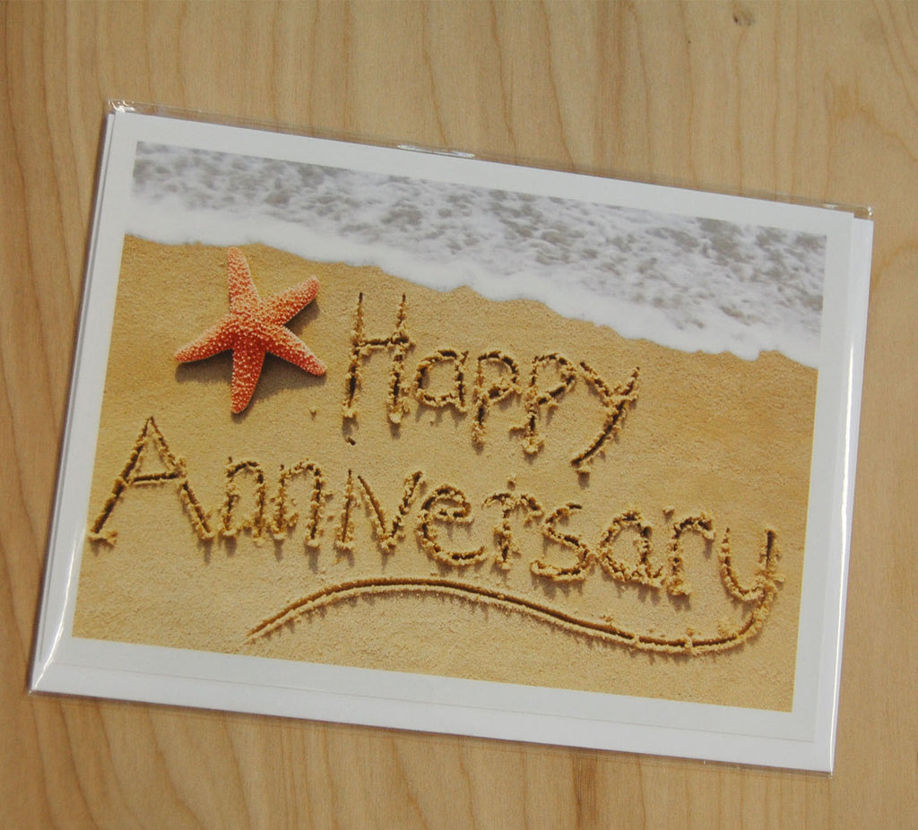 Sand Cards : Happy Anniversary