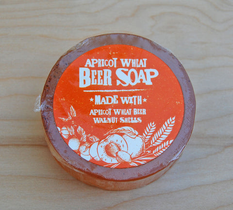 Sale Beer Soap : Apricot Wheat