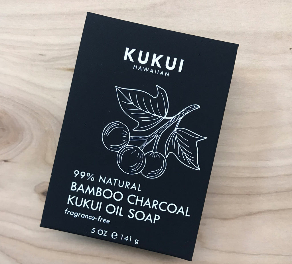FINAL Sale Bamboo Charcoal Kukui Oil Soap