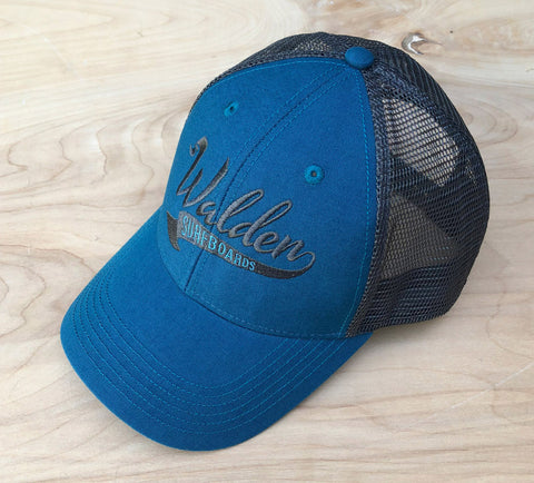 SALE Banner Trucker : retro teal