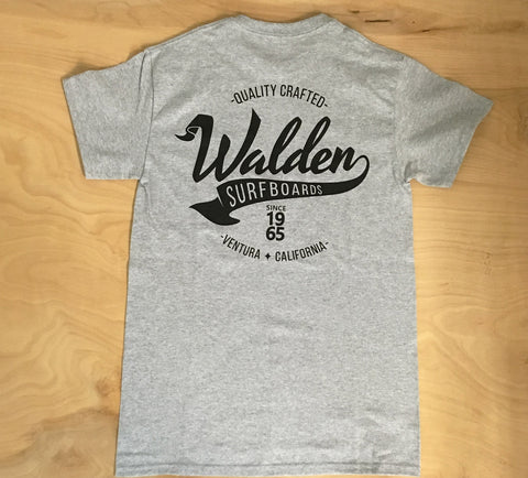 Walden Banner: Grey