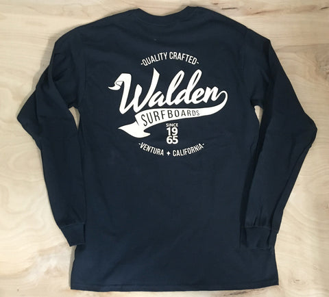 Banner Long Sleeve: Black