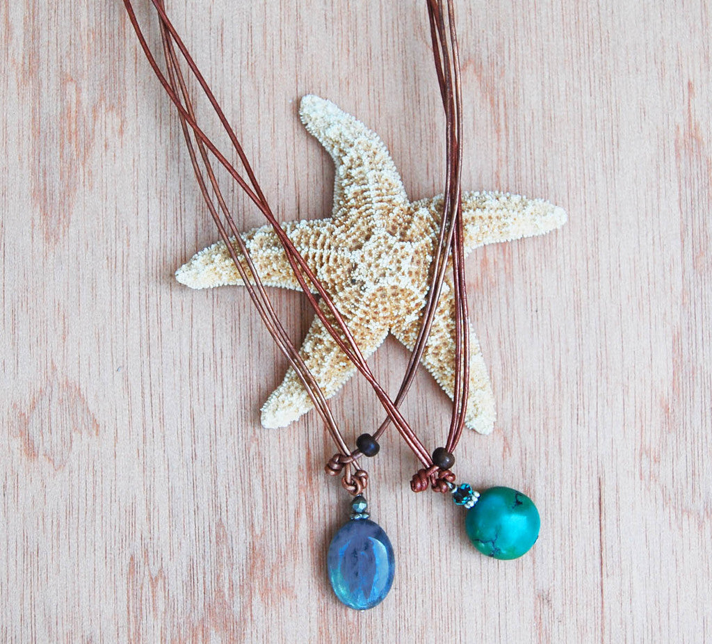 Sale Mermaid Bead Necklace
