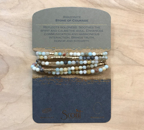 Scout wrap: Amazonite