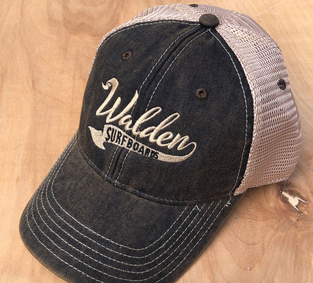 Walden Banner trucker : black