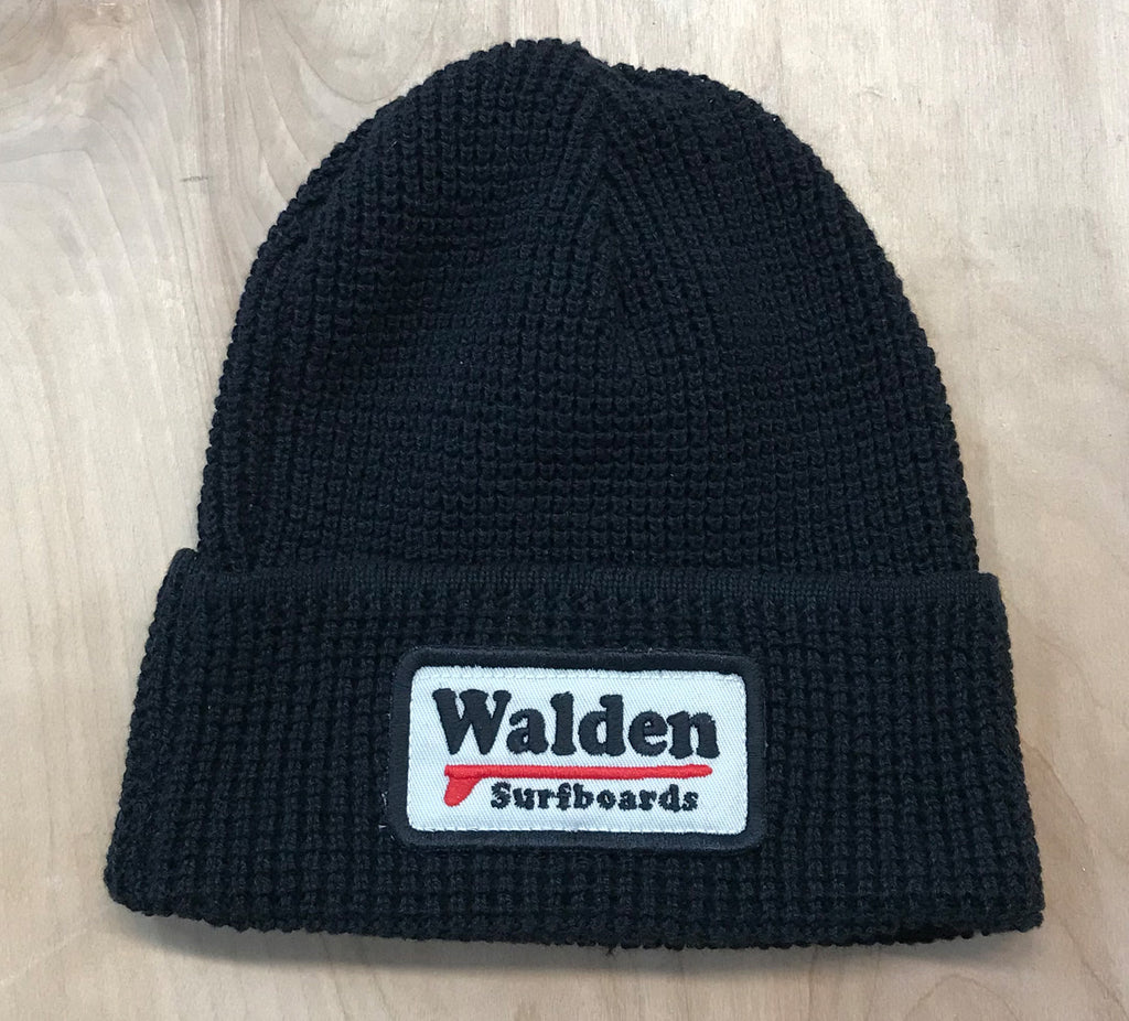 Single Fin Beanie : black