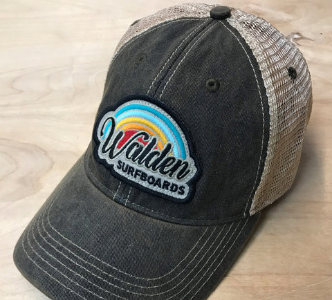 rainbow 70' trucker : black