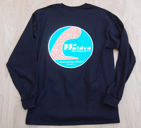 Sale Single fin longsleeve : Black