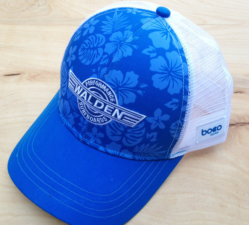 FINAL Sale Technical Trucker : Blue Hawaii