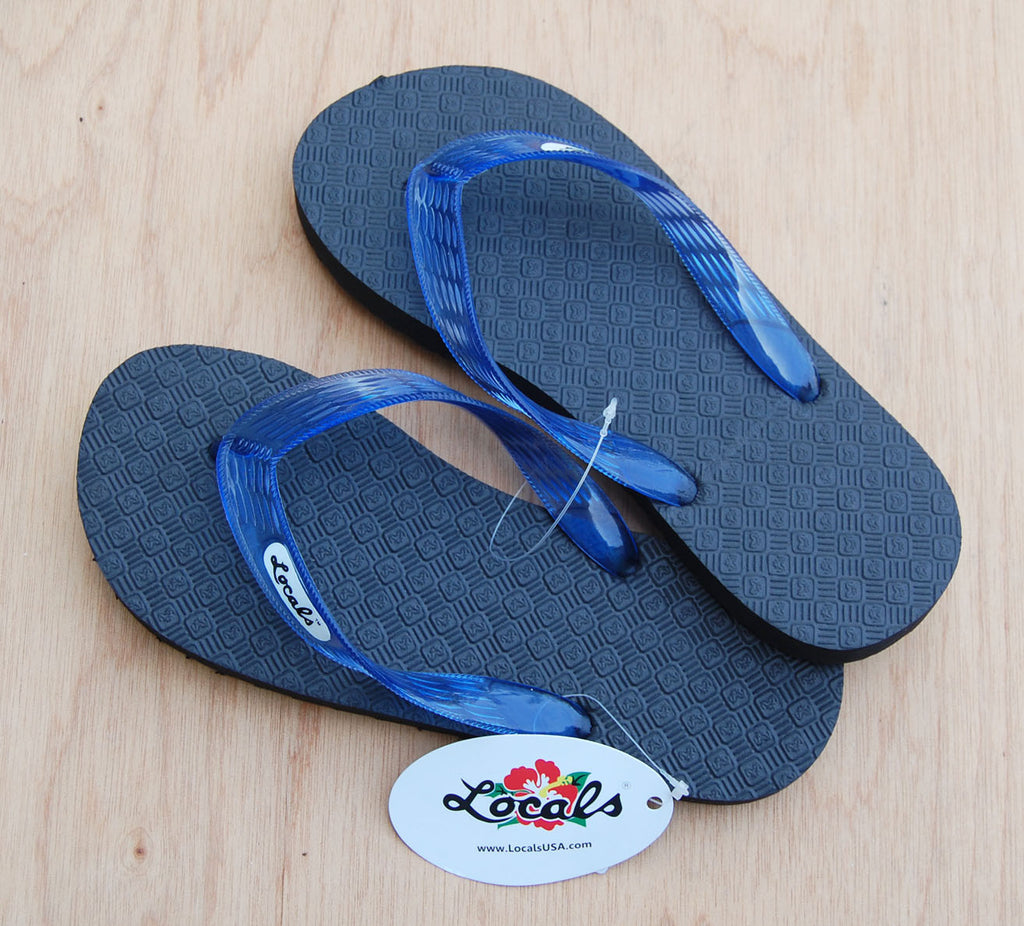 Locals Slippers : Blue