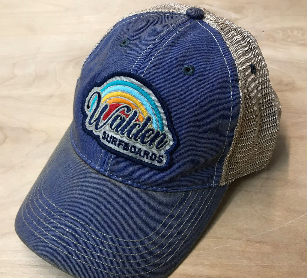 rainbow 70' trucker : blue