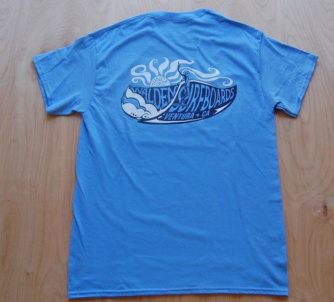 South Swell t-shirt: blue
