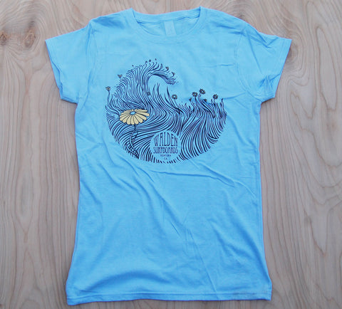 Sea Grass T-shirt : blue