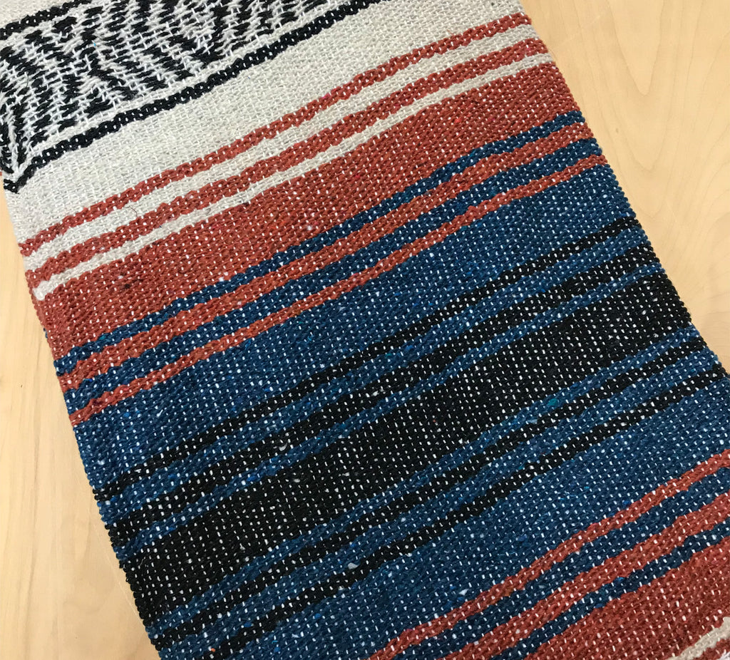 Mexican Blanket: terra-navy