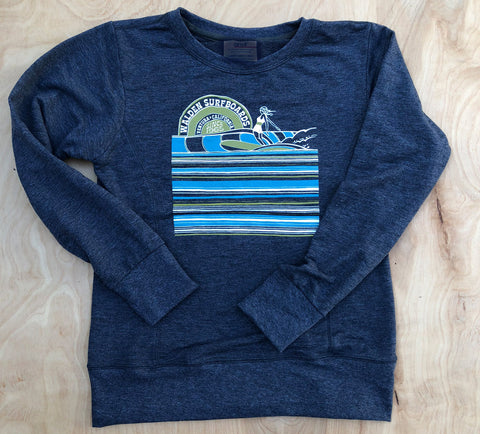 Surf Slide crew : blue
