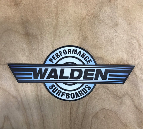 Walden Performance Stickers : blue