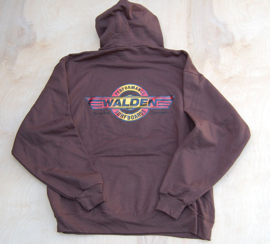 Sale Performance hoodie : Brown : Red logo