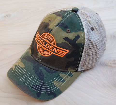 Sale:Logo Trucker: Camo
