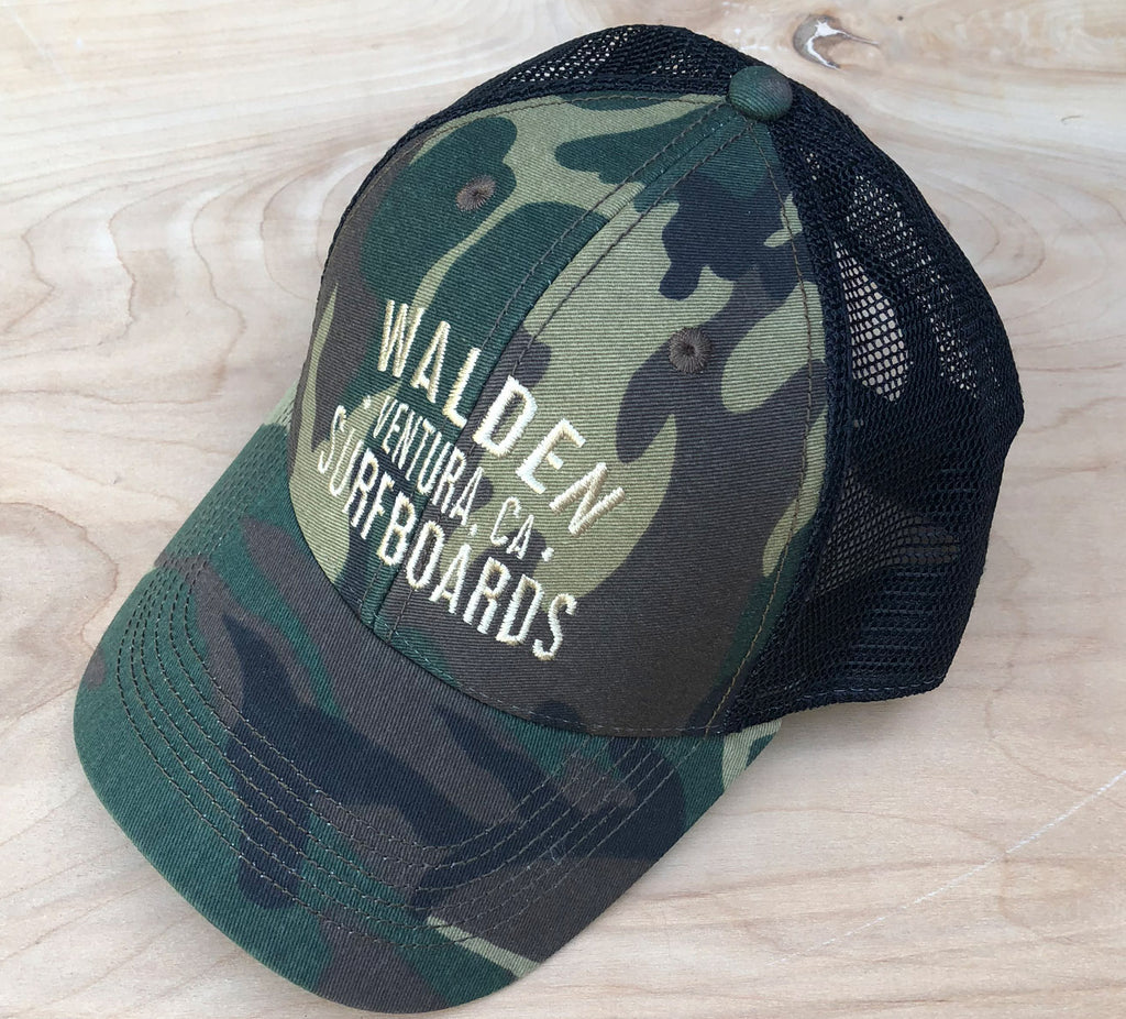FINAL SALE Trucker Achiever : camo